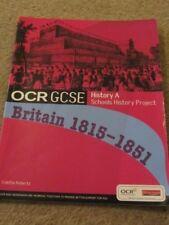 GCSE OCR Schools History Project A Britain 1815-51 Study Revision Student Book
