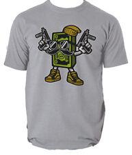 Cash Rules t shirt crypto bitcoin money gangster s-3xl