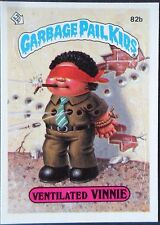 1985 Garbage Pail Kids Ventilated Vinnie 82b, GPK Series 2 Ventilated Vinnie