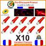 10 x T5 LED Voiture Rouge Ampoule Tableau de Bord Compteur Tuning 12V