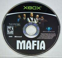 Mafia (Original Microsoft Xbox 2004) Mafia 1 Video Game MINT
