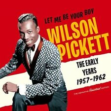 Wilson Pickett - Let Me Be Your Boy: Early Years 1957-1962 [New CD] Rmst, With B