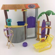 Disney Hannah Montana RICO'S TIKI BAR SURF SHOP Light Up Doll Playset Toy