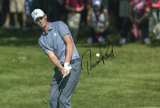 Thomas Pieters, Belgian golfer, Ryder Cup 2016, signed 12x8 inch photo. COA.