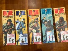 HASBRO G.I. JOE - 40th Anniversary - Set of 5 figures - Brand New in Mint Boxes