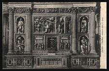 cartolina LORETO basilica-esterno della s. casa