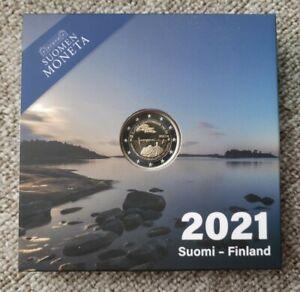 FINLANDE !! BE. 2 euro commémo 2021 !! ALAND !! NEUF