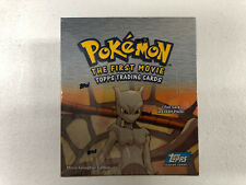 Pokemon THE FIRST MOVIE Topps Trading Cards Factory Sealed Booster Box