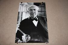 "Thomas Edison Apple Think Different Poster - Size 24""x 36"""