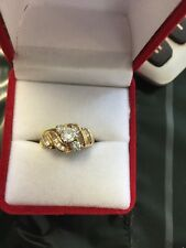 14 Kt .45 Ct Diamond 2 Tone