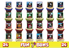 THOMAS & FRIENDS PARTY PACK (24). Edible Standup Wafer Cake Toppers Pick N Mix