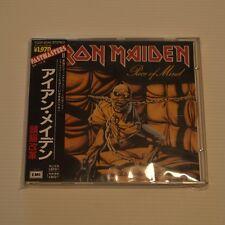 IRON MAIDEN - PIECE OF MIND  JAPAN CD 1991 PRESS