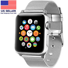Simpeak Apple Watch 38mm Band Stainless Steel Armband for iWatch Series