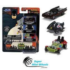 "Jada Nano Hollywood Rides - Batman Classic TV Series 3-Pack - 1.65"""