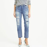 Point Sur Denim J. Crew Women's Shoreditch Selvedge Warnell Crop Jeans - 31 x 27