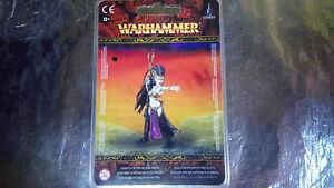 * 85-34 Dark Elf Supreme Sorceress Miniature Warhammer Fantasy
