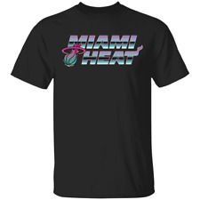Men's 2020 Miami Heat Miami Nights Hometown Short Sleeve Black T-Shirt S-5XL