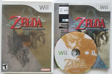 Nintendo WII THE LEGEND OF ZELDA Twilight Princess Video Game Complete w/ Manual
