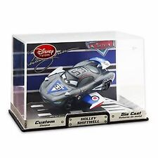 Disney Store Cars 2 Die Cast Collector Case Holley Shiftwell Aviator Artist NEW