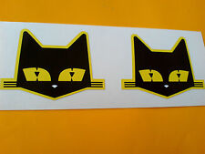 SEV MARCHAL chat rétro vintage Voiture Autocollants Stickers 2 off 54MM