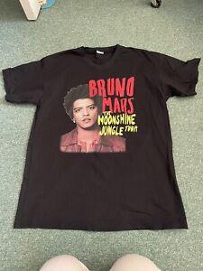 Bruno Mars 2014 Tour T Shirt. Size X Large Brand New