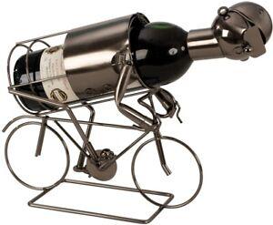 Flaschenhalter Metall Rennrad 24,5 cm Flaschenständer Weinhalter Metallständer