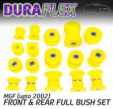 MGF (upto 2002) FRONT & REAR BUSH SET yellow Duraflex Polyurethane