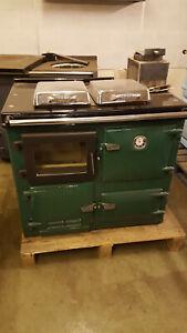 Flameview 10 rad heating wood burning  cooker - Rayburn 300 type,glass door