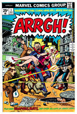 ARRGH #1 (VF/NM) High Grade! Marvel Satire Horror Bronze-Age Comic! 1974 DRACULA