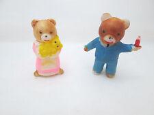 Mini Plastic Bear Family
