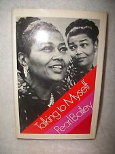 Pearl Bailey Talking To Myself Autographed Book