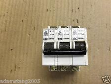 Stotz BBC S211 K 4A K 8A K 16A  3 POLE 220/380 Circuit Breaker