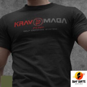 NEW Krav Maga Israel Self Defense System Combat Martial Arts MMA  Army T-shirt