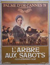 Affiche L'ARBRE AUX SABOTS Ermanno Olmi LUIGI ORNAGHI Moriggi 40x60cm
