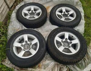 "5 x Suzuki Jimny 15"" Alloy Wheels with Tyres"