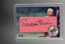 Star Trek TOS Captains Collection Susan Oliver Cut Autograph card # 7/14