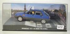 James Bond 007 Collection 1/43 Renault 11 Taxi Paris View to a Kill in Box #5637