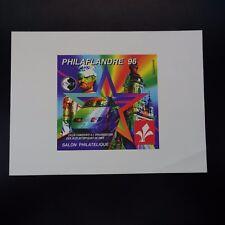 FRANCE BLOC CNEP N°22 1996 ÉPREUVE DE LUXE TIMBRE NON DENTELÉ IMPERF