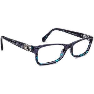 Dolce & Gabbana Eyeglasses DG3147P 2551 Blue Marble Rectangular Frame 53[]16 135