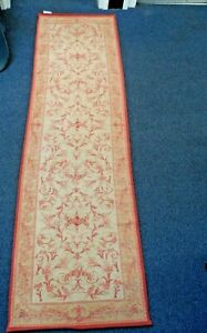 Laura Ashley Home Malmaison Runner Beige/Red 220 x 65cm  #2  B67