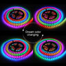 WS2812B 5V 5050 RGB LED Strip 1-5M 30 60 144 150 300 Leds Individual Addressable