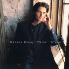 New: GEORGE DUCAS- Where I Stand CASSETTE