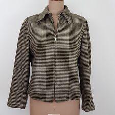 Emanuel Ungaro Women's Jacket SZ 12  Houndstooth Business Weekend Casual
