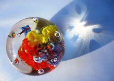 Sfera cristallo da collezione palle di vetro Murano