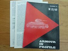 Armour Collectable WWII Military Books