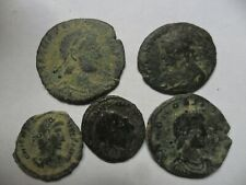lote de 5 monedas romanas  lot,1