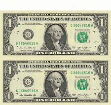$1 2013 2 G/H BLOCK (fw) CHICAGO CON. CU