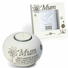 Said with Sentiment 7413 Mum Tealight and Frame Gift Set