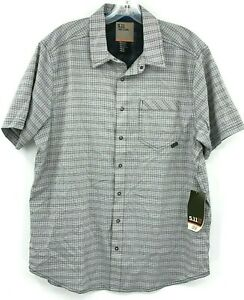 5.11 Tactical Men's M Intrepid SS Concealed Carry Snap Button Shirt Volcanic $55