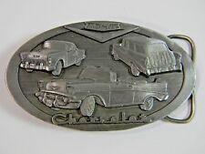 Belt Buckle C&J Chevrolet 57 Chevy Nomad Convertible Vintage1988 C+J, Inc. #1136